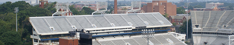 Picture of Bobby Dodd Stadium.