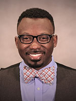 Picture of Travis Liggins, Hall Director for Hanson Hall