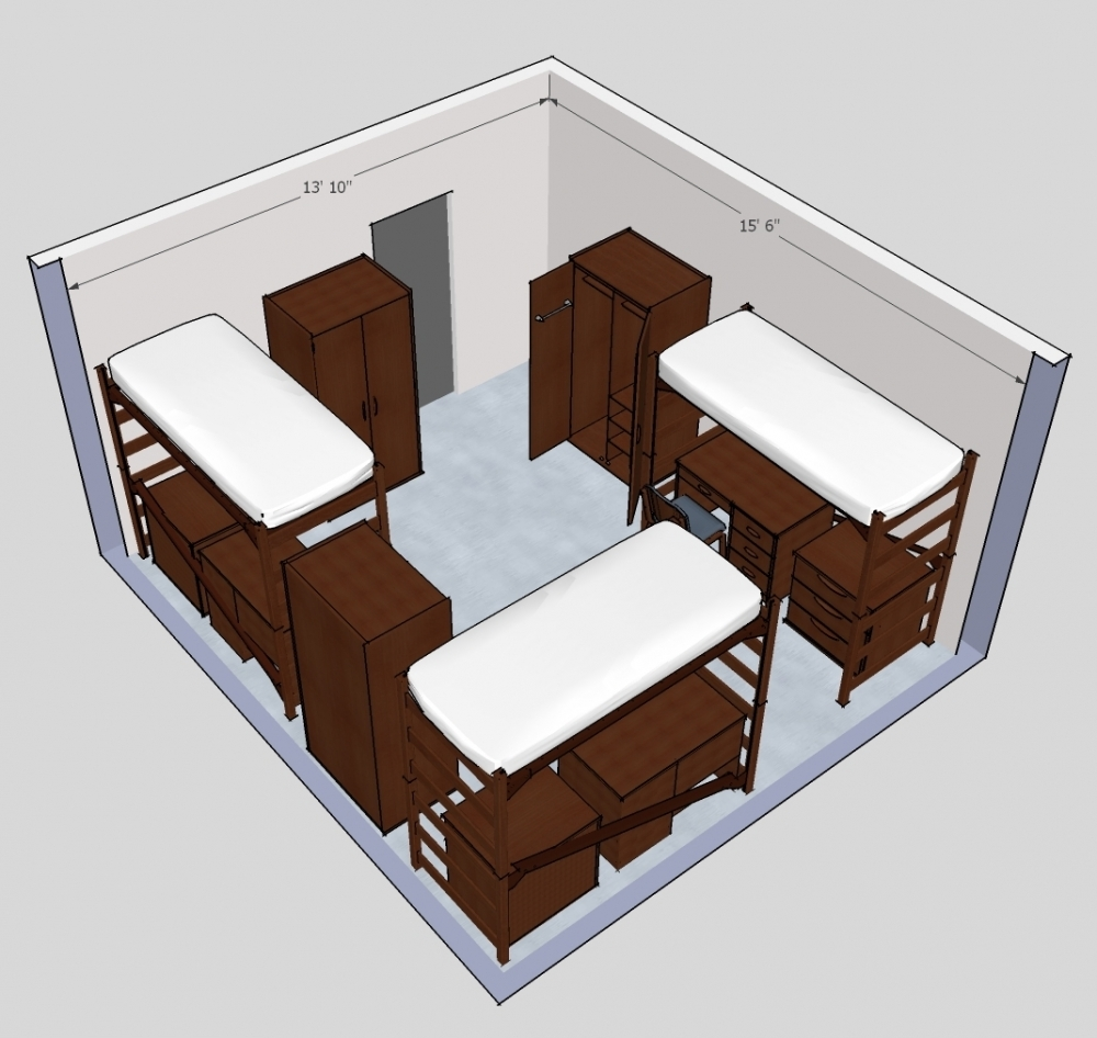 3 Person Room Detail