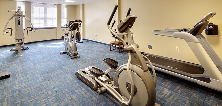 Eighth Street Apartments Exercise Room