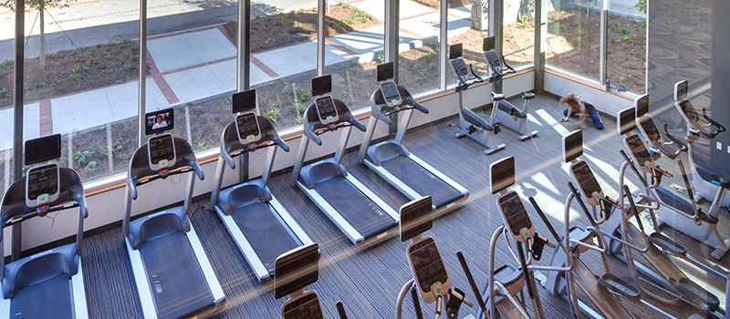 GT Connector workout room