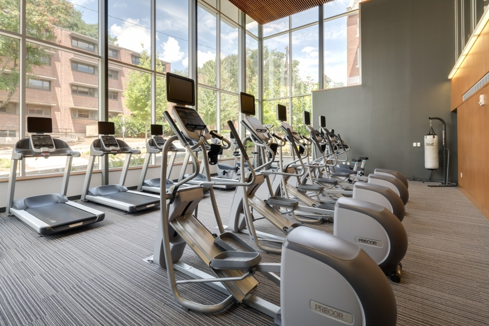 Picture of workout room in GT Connector