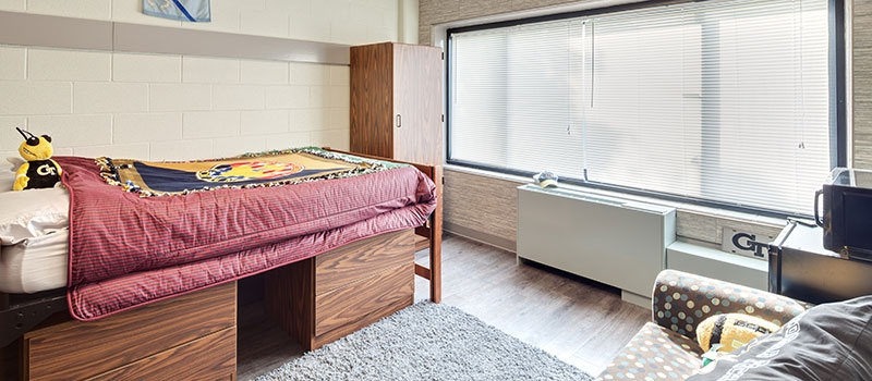 Picture of Woodruff South Single Suite bedroom