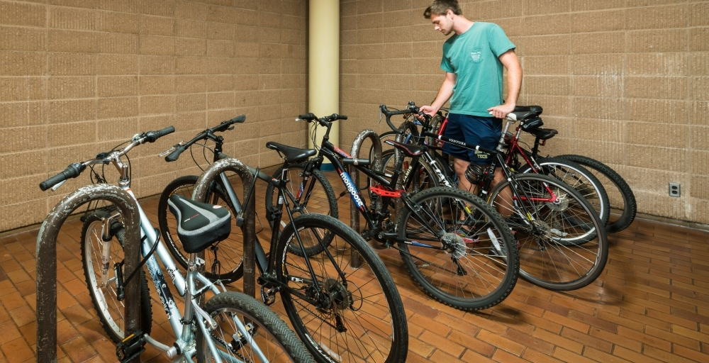 Picture of Bike room in Woodruff South