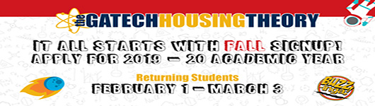 2019-2020 Sign-up for Housing Guide