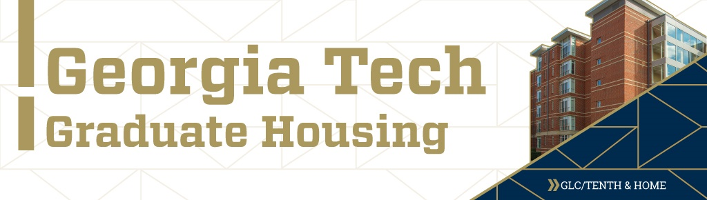 Georgia Tech Graduate Housing brochure cover