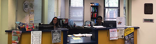 Picture of WCHO desk